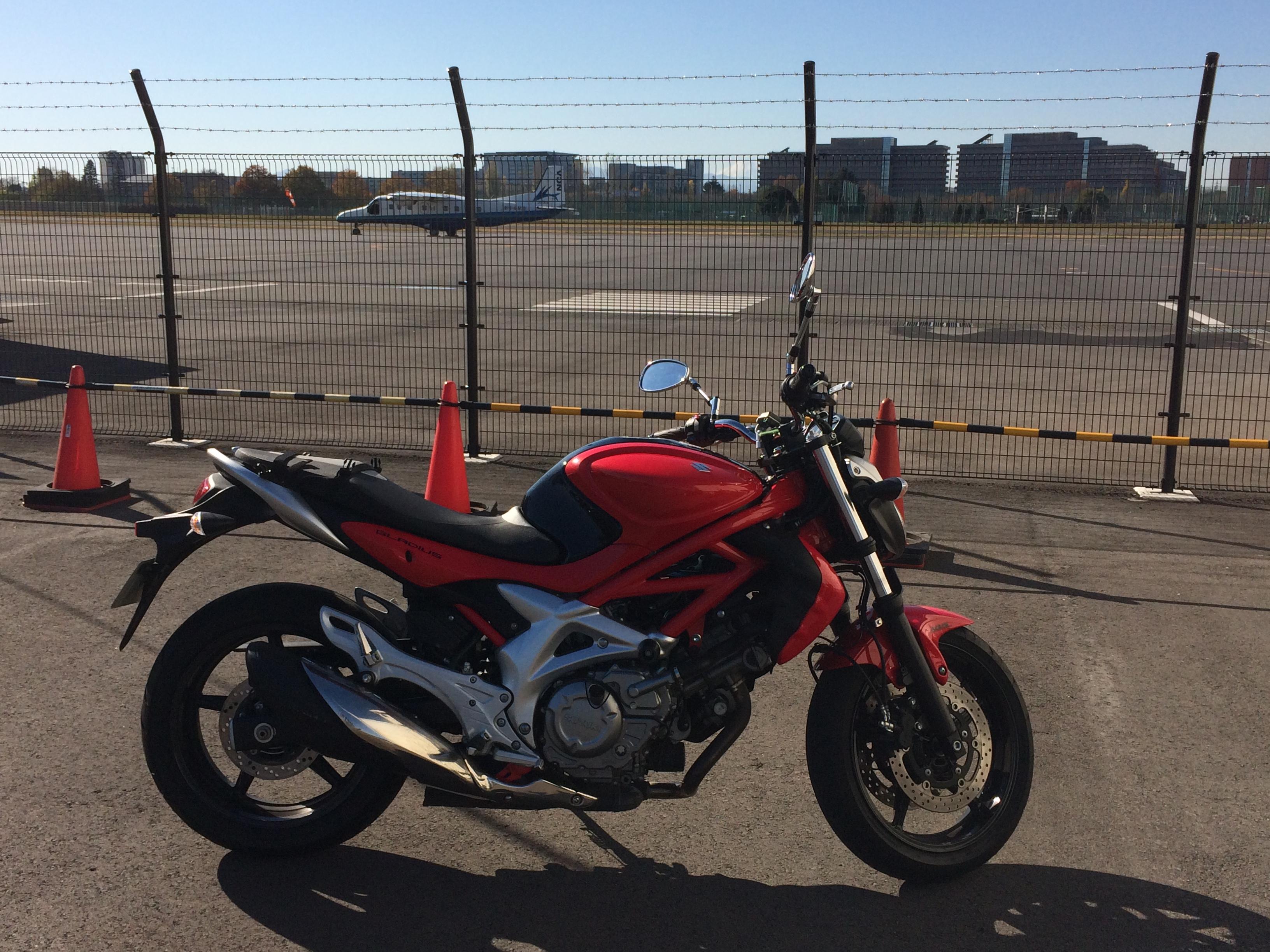 大型二輪教習 やっと大型バイクに慣れてきた