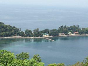 大瀬崎から見た景色