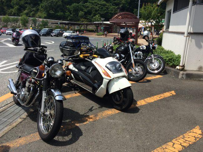 軽井沢ツーリング W800慣らし中