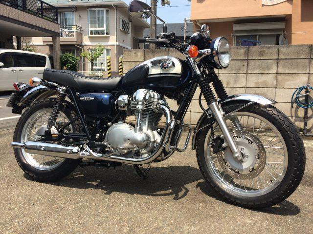 バイクに乗る資格はないと思った話。ごめんね、W800