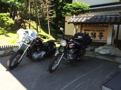 北海道最後の宿です。
